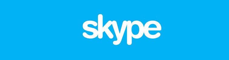La fonction partage d'écran de skype